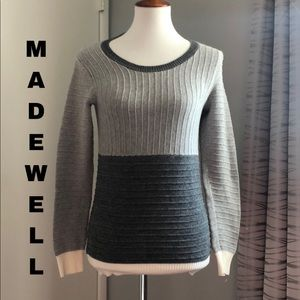 Like New Madewell ribbed sweater